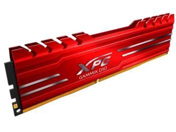 16 ГБ DDR4-3200 МГц ADATA XPG Gammix D10, PC25600, CL16-18-18, 1,35 В, красный радиатор