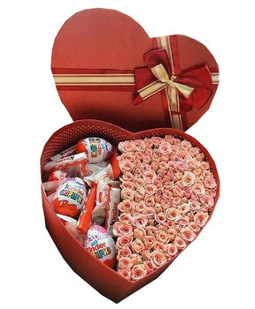 купить Kinder box with roses в Кишинёве