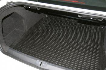 VW Passat B7, 2011-> сед. Коврик в багажник