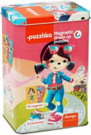 купить Puzzlika Магнитные пазлы игра Куклы в Кишинёве