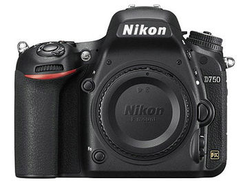 "Nikon D750 body + MB-D16 Battery Pack, 24.3MPx FX-Format CMOS Sensor; EXPEED 4 Im Proc; 3.2"" 1,229k-Dot RGBW Tilting LCD Monitor; FHD 1080p Video Record at 60 fps; Multi-CAM 3500FX II 51-Point AF Sensor; Native ISO 12800, Ext. to ISO 51200, VBA420K501"