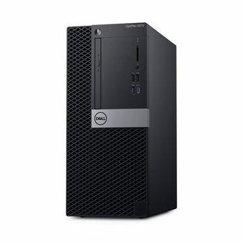 DELL OptiPlex 5070 MT (lnteI® Core® i7-9700, 8GB DDR4 RAM, 256GB SSD, DVD-RW, lnteI® UHD630 Graphics, TPM, 260W PSU, USB mouse and KB MS116, Win 10 Pro, Black)
