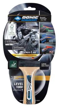 Ракетка для настольного тенниса Donic Legends 1000 FSC 754412, 2.3 мм, FSC-wood (3190) (la comanda)