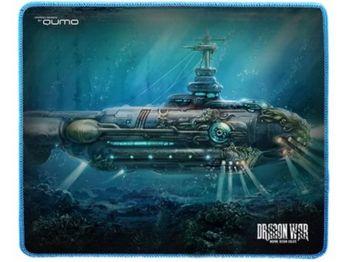 Коврик для игровой мыши Qumo Nautilus 280 x 230 x 3 мм