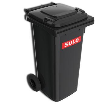 купить Контейнер для мусора 120 л, черный в Кишинёве