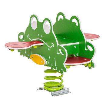 купить Качалка на пружине из HDPE 'frog quartet' в Кишинёве
