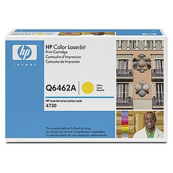 HP Color LaserJet Q6462A Yellow Print Cartridge