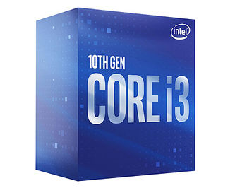 Процессор CPU Intel Core i3-10100 3.6-4.3GHz Quad Core 8-Threads, (LGA1200, 3.6-4.3GHz, 6MB, Intel UHD Graphics 630) BOX with Cooler, BX8070110100 (procesor/процессор)