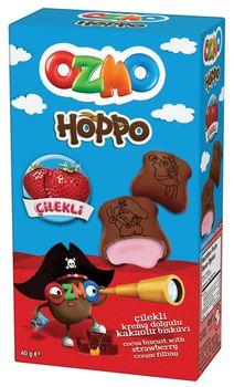 Печенье Ozmo Hoppo со вкусом клубники 40г