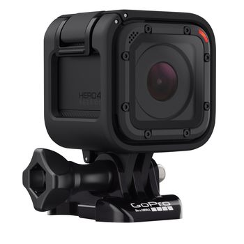 Action Camera GoPro HERO Session, Photo-Video Resolutions: 8MP/10FPS Burst Time Laps-1440P30/1080P60, waterproof without a housing down to 10m, advanced image stabilzation, One-Button Control, compact size, Bluetooth, Wi-Fi, Battery built-in, 74g