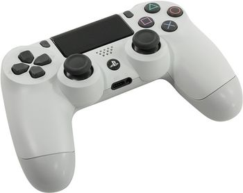 купить Gamepad Sony DualShock 4 v2 Glacier White for PlayStation 4 в Кишинёве