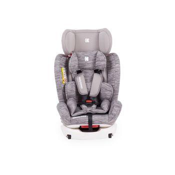 Car Seat Kikka Boo 0-1-2-3 (0-36 kg) 4 Fix Light Grey 2020