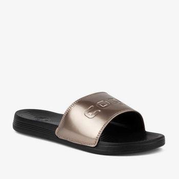 купить Женские тапочки COQUI 6343 Black/Bronze в Кишинёве