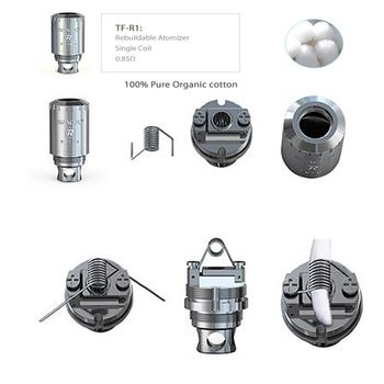 купить Smok TFV4 RBA Head TF-R1 в Кишинёве