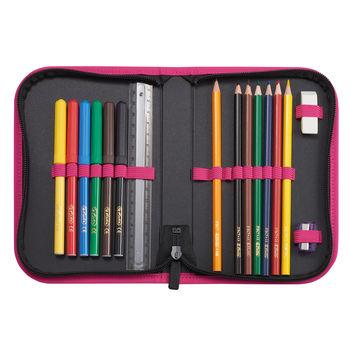 """Школьный рюкзак """"Cats"""" Herlitz I розово-черная"""