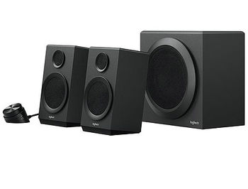 Logitech Z-333 Speaker System 2.1 with Subwoofer ( 2.1 surround, RMS 40W, 24W subwoofer, 2x8W satel. ), 980-001202 (boxe sistem acustic/колонки акустическая сиситема)