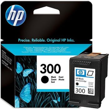 HP No.300 Black InkJet Cartridge, with Vivera Inks, 4ml (200pages), DESKJET- D1660, D2560, D2660, D5560, F2420, F2480, F2492, F4210, F4224, F4272, F4280, F4580, PHOTOSMART- C4670, C4680, C4685, C4780