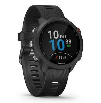 GARMIN Forerunner 245, Music Black, Music Storage Bluetooth, ANT+ ,Activity Tracker, Timer, Stopwatch, Smart notificatiions, GPS, Compass, Accelerometer, Pulse Ox, 38.5 g