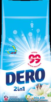 купить Dero 2in1 Белый Ирис и Ромашка, 8 кг. в Кишинёве