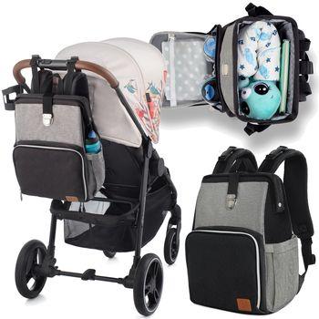 купить Рюкзак для коляски Kinderkraft Molly черный в Кишинёве