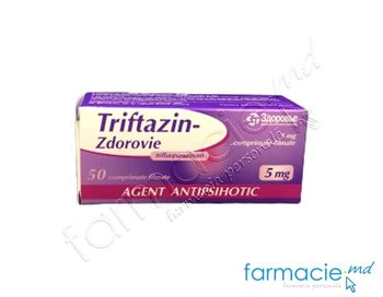 купить Triftazin-Zdorovie comp. film. 5 mg N10x5 в Кишинёве