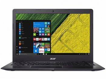"ACER Swift 1 Obsidian Black (NX.H1YEU.011), 14.0"" IPS FHD (Intel® Pentium® Silver N5000 4xCore up to 2.70 GHz, 4GB (1x4) DDR4 RAM, 128GB PCIe SSD, Intel® UHD Graphics 605, CR, WiFi-AC/BT, FPR, Backlit KB, 3cell, HD Webcam, RUS, Linux, 1.3kg, 15mm)"