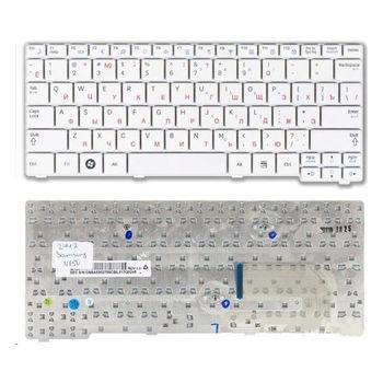 Keyboard Samsung N151 N150 N148 N145 N143 N128 N100 N102 NB20 NB30 ENG. White