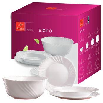 Набор тарелок Bormioli Ebro 19ед