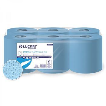 Strong L-One Mini Blue 350 - Бумажные полотенца с центральной вытяжкой 2 слоя 350 отрывов