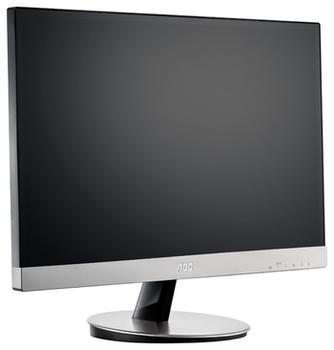 "cumpără ""23.0"""" AOC """"i2369Vm"""", Silver (IPS, 1920x1080, 6ms, 250cd, LED50M:1, D-Sub, HDMI, DP, Speakers) (23.0"""" AH-IPS LED, 1920x1080 Full-HD, 0.265mm, 6ms GTG, 250 cd/m², DCR 50 Mln:1 (1000:1), 178°/178° @C/R>10, Analog D-Sub + HDMIx2 + DisplayPort, Built-in speakers, Built-in PSU, Fixed Stand (Tilt -3/+21°), VESA Mount 75x75, Silver-Glossy Borderless)"" în Chișinău"