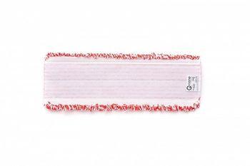VELCRO Моп плоский микрофибра красный 40х13,5 см, липучки