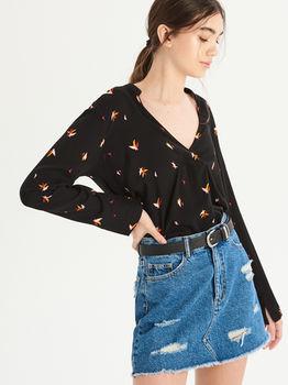 Блуза Sinsay Чёрный vr471-03x