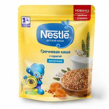 купить Nestle каша гречневая молочная с курагой, 6+мес. 220г в Кишинёве