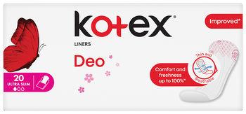 Ежедневные прокладки Kotex SuperSlim Deo, 20 шт.
