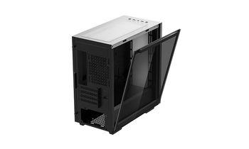 купить Case mATX Deepcool MACUBE 110, w/o PSU, 1x120mm,Tempered Glass,Magnetic Side Panels, 2xUSB3.0, White в Кишинёве