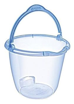 Caldare plastic transparent 15l Favilla