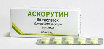 купить Ascorutin comp. 50 mg + 50 mg  N10x5 в Кишинёве