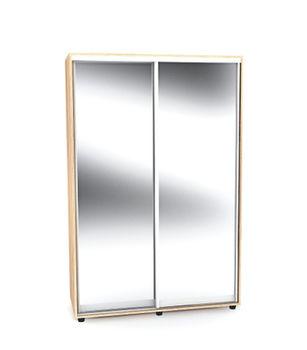 Шкаф-купе 1500 2 двери 2 зеркала