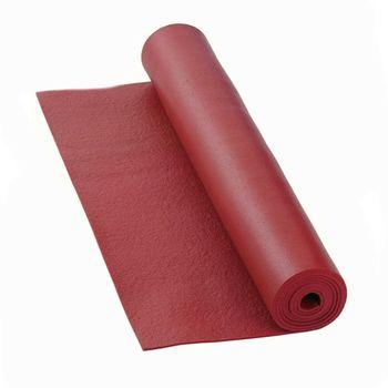 Mat pentru yoga Bodhi  Rishikesh Premium 60 BURGUNDY -4.5mm