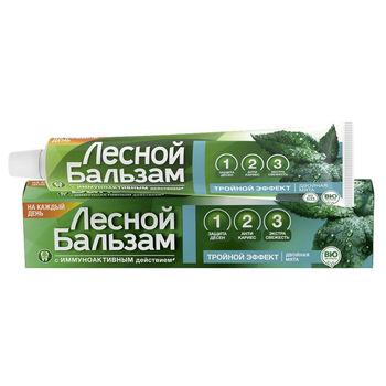 cumpără Pastă de dinți Lesnoi Balsam Efect triplu 75ml în Chișinău