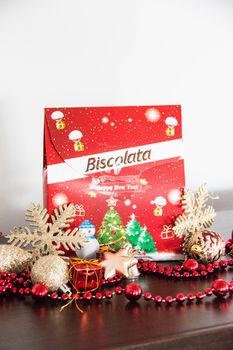 Новогодний подарок Biscolata 265г