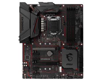 MSI Z270 GAMING M3, Socket 1151, Intel® Z270, Dual 4xDDR4-3800, 2xPCIe X16, CPU Intel graphics, DVI, HDMI, 6xSATA3, RAID, 2xM.2 slot, 4xPCIe X1, ALC1220 7.1ch HDA, GigabitLAN, 1xUSB3.1/Type-C, 1xUSB3.1 Gen 2, 8xUSB3.1, Mystic Light, MC 5, ATX