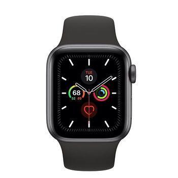 купить Apple Watch Series 5 40mm/Space Grey Aluminium Case With Black Sport Band, MWV82 GPS в Кишинёве