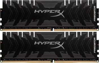 16GB (Kit of 2*8GB) DDR4-4000 HyperX® Predator DDR4, PC32000, CL19, 1.35V, BLACK heat spreader, Intel XMP Ready (Extreme Memory Profiles)