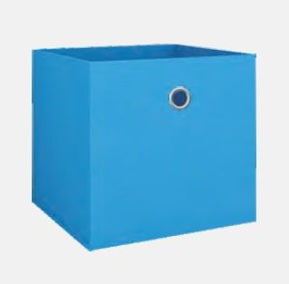 купить Текстильная коробка 280х280х280 мм, синий в Кишинёве