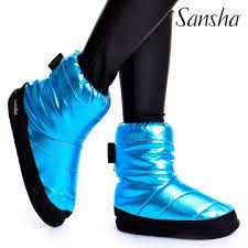 Sansha Booties TIBET WOOD blue marime 37-38