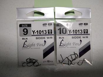 Крючки Light Fox Y-8299 Nr1, 10шт