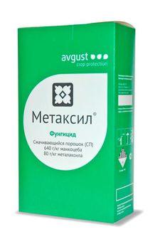 купить Метаксил - фунгицид для борьбы с болезнями на картофеле, томатах, огурцах, луке и винограде - Август в Кишинёве