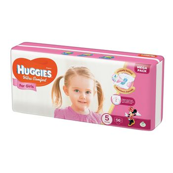 cumpără Huggies (5) Ultra Comfort MegaPack  Girl (12-22kg)  N56 în Chișinău