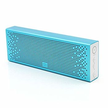 "Xiaomi ""Mi Bluetooth Speaker"" EU, Portable Bluetooth Speaker, Blue, 6W (3Wx2) RMS, BT4.0, microSD, AUX, Microphone, Rechargeable Battery: 1500mAh, Battery Life: 8 hours, Support A2DP/AVRCP/HSP/HEP, Passive bass radiator, Full aluminium body"